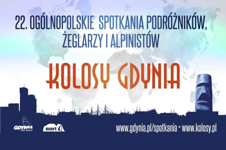 Kolosy online – podróżnicze opowieści prosto z Gdyni (wideo) - GospodarkaMorska.pl