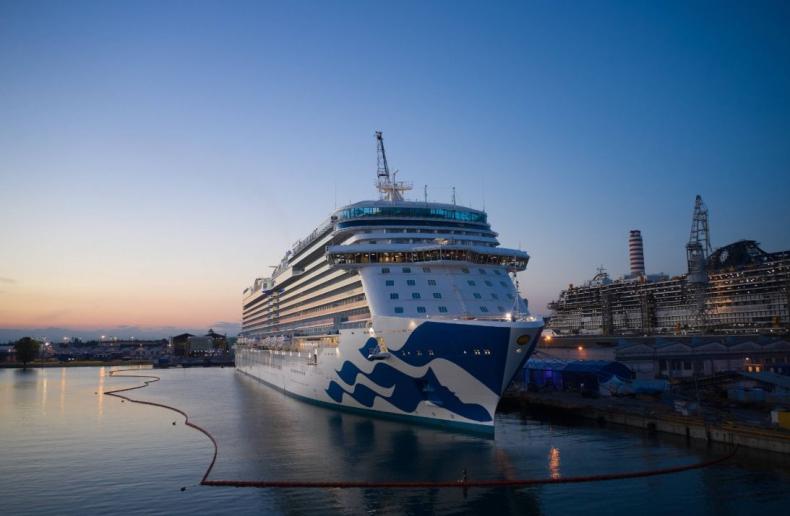 Fincantieri dostarczyło pierwszy statek w erze pandemii koronawirusa - GospodarkaMorska.pl