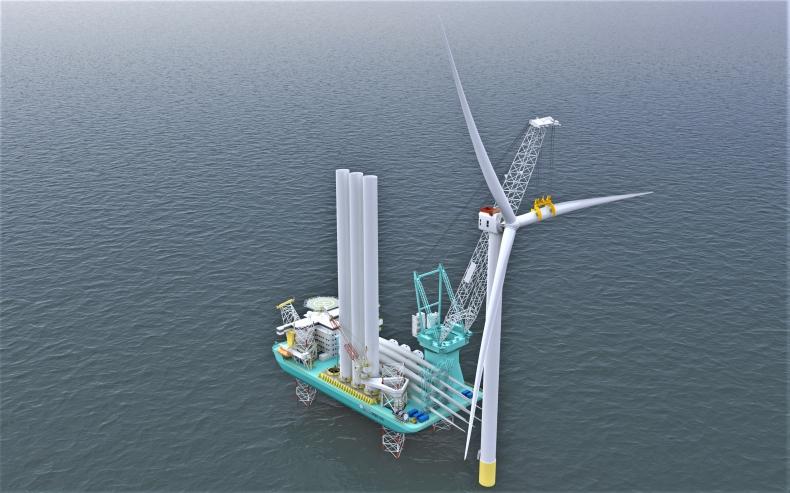 CIMC zbuduje jednostką do instalacji turbin wiatrowych nowej generacji dla norweskiej firmy - GospodarkaMorska.pl