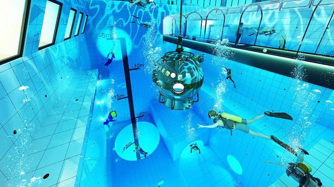Deepspot – najgłębszy basen nurkowy z szansą na rekord Guinnessa - GospodarkaMorska.pl