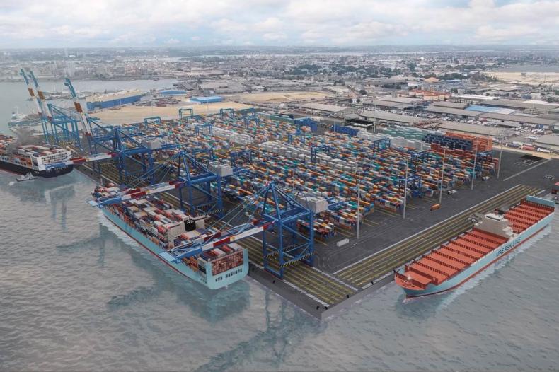 APM Terminals: Terminal kontenerowy Wybrzeża Kości Słoniowej wchodzi w fazę budowy - GospodarkaMorska.pl