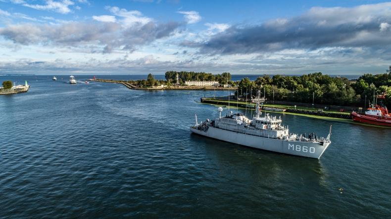 Okręty NATO w Porcie Gdańsk [foto, wideo] - GospodarkaMorska.pl