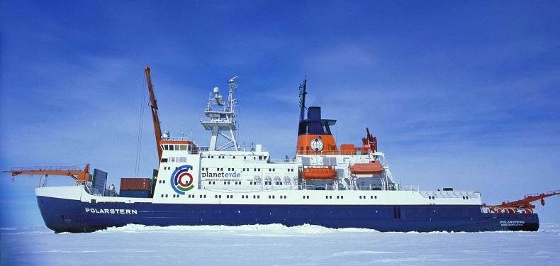 Największa wyprawa arktyczna wróciła do Niemiec alarmując o topniejącym lodzie - GospodarkaMorska.pl