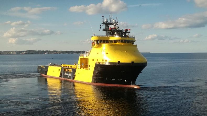 PSV Coey Viking i Planeta I na próbach morskich - GospodarkaMorska.pl