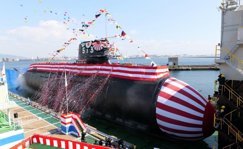 W Japonii zaprezentowano nowy okręt podwodny - GospodarkaMorska.pl