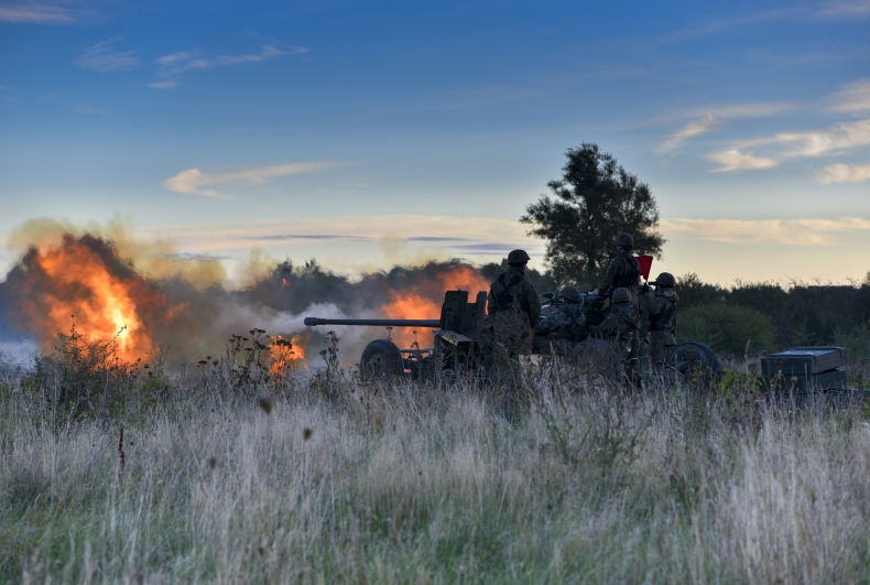 Zakończenie szkolenia poligonowego przeciwlotników MW [foto] - GospodarkaMorska.pl