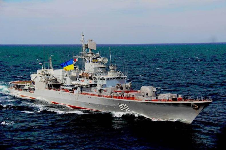 Ukraina zbuduje dwie bazy wojskowe na Morzu Czarnym - GospodarkaMorska.pl