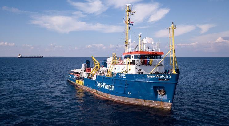 Była kapitan statku Sea Watch 3 znowu w akcji - GospodarkaMorska.pl