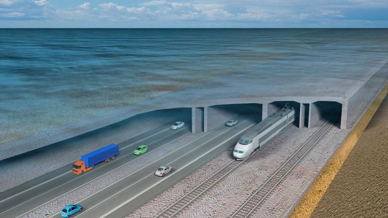 Rekordowy tunel dnie Bałtyku połączy Niemcy i Danię w 2029 roku (wideo) - GospodarkaMorska.pl