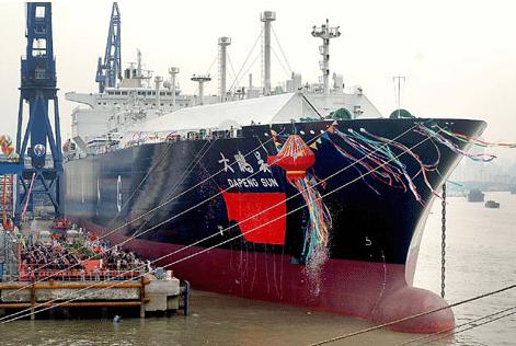 Chińscy nabywcy planują czterokrotne zwiększenie przepustowości terminalów LNG - GospodarkaMorska.pl
