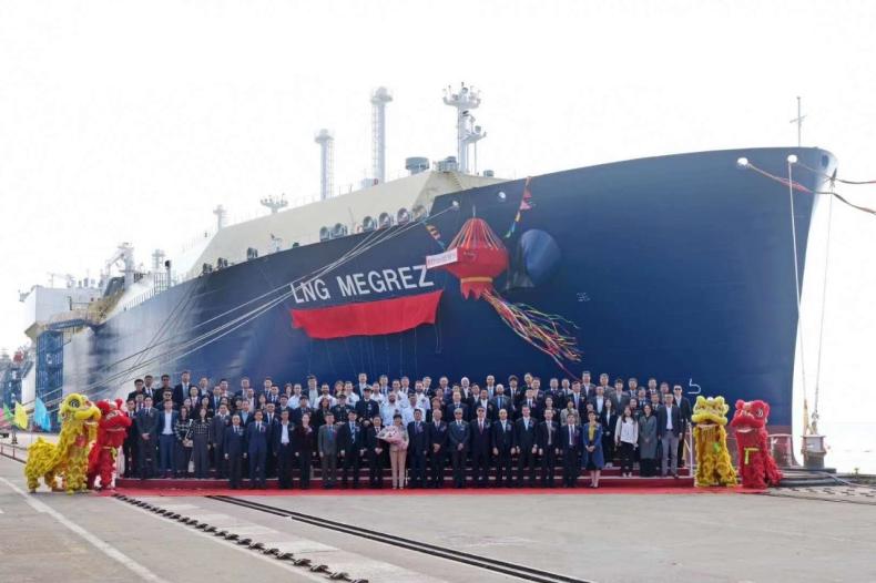 Ochrzczono ostatni tankowiec MOL i Cosco dla projektu Jamał LNG - GospodarkaMorska.pl