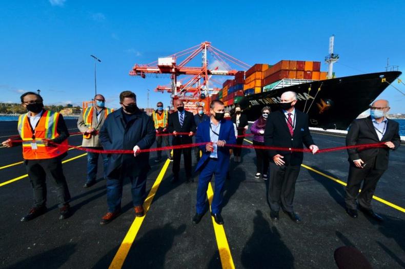 Port Halifax zakończył rozbudowę terminala kontenerowego - GospodarkaMorska.pl