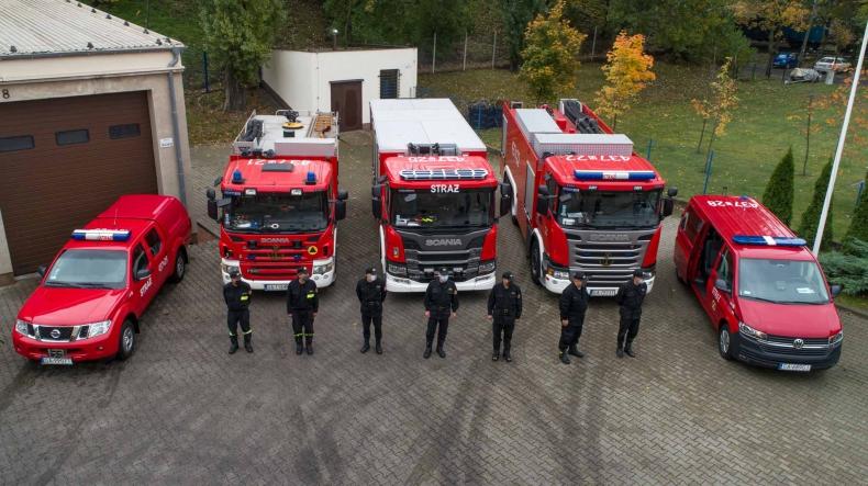 Nowy pojazd kwatermistrzowski na 90-lecie Portowej Straży Pożarnej w Gdyni (foto, wideo) - GospodarkaMorska.pl