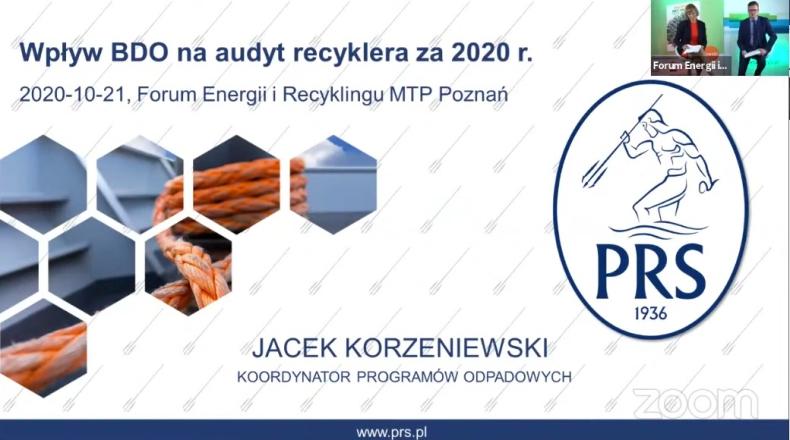 PRS na Forum Energii i Recyklingu [wideo] - GospodarkaMorska.pl