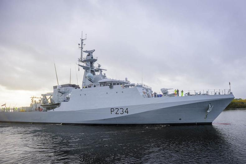 Ostatni okręt patrolowy najnowszej generacji wyrusza z Glasgow do swojej nowej bazy w Portsmouth - GospodarkaMorska.pl