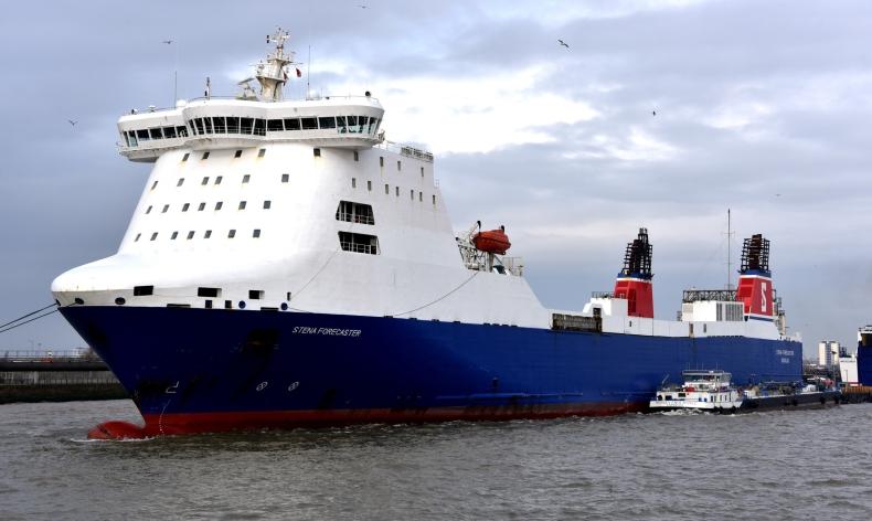 P&O Ferries wyczarteruje statek STENA FORECASTER - GospodarkaMorska.pl