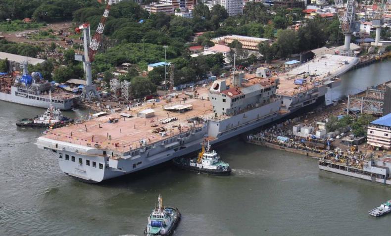 Fincantieri rozpoczął współpracę z wiodącym hinduskim producentem statków - GospodarkaMorska.pl