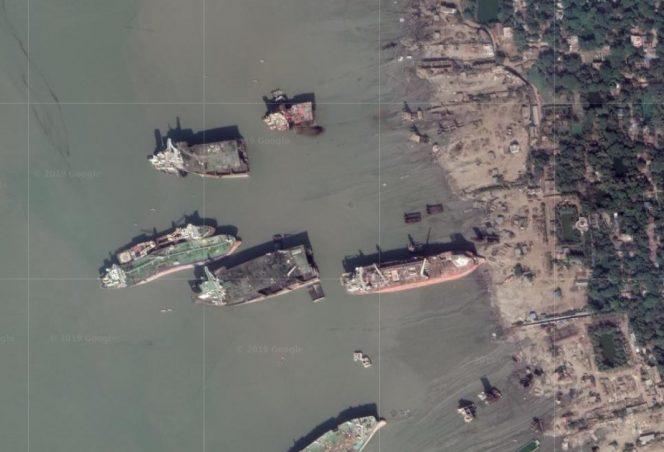 Złomowanie statków w Południowej Azji kwitnie pomimo pandemii koronawirusa - GospodarkaMorska.pl