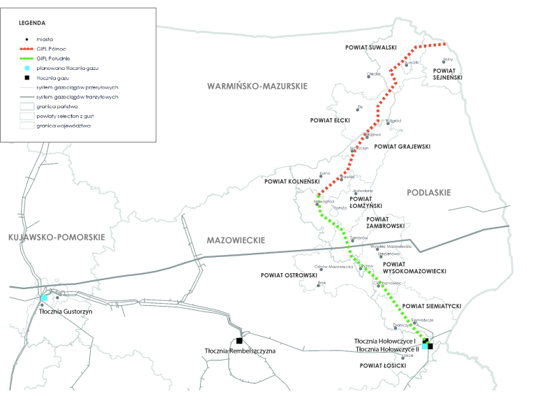 Rusza niewiążące badanie zainteresowania rynku gazociągiem Polska-Litwa - GospodarkaMorska.pl