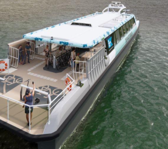Damen zbuduje dziewięć ekologicznych promów dla Aqualiner-Swets - GospodarkaMorska.pl