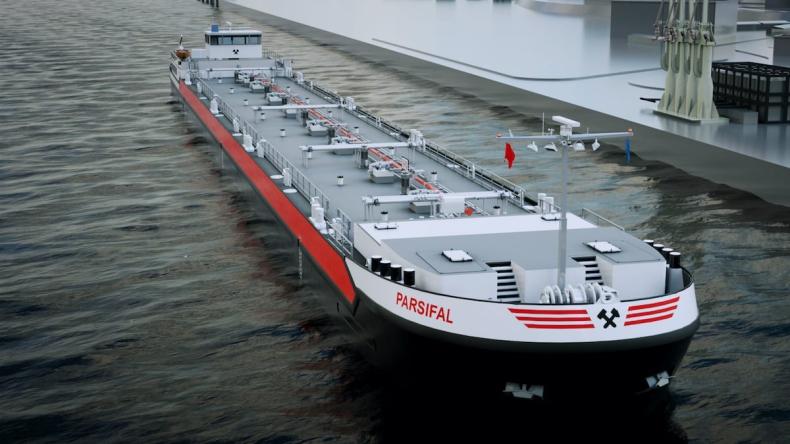JP Morgan zamówił 40 barek napędzanych LNG w Damen Concordia - GospodarkaMorska.pl