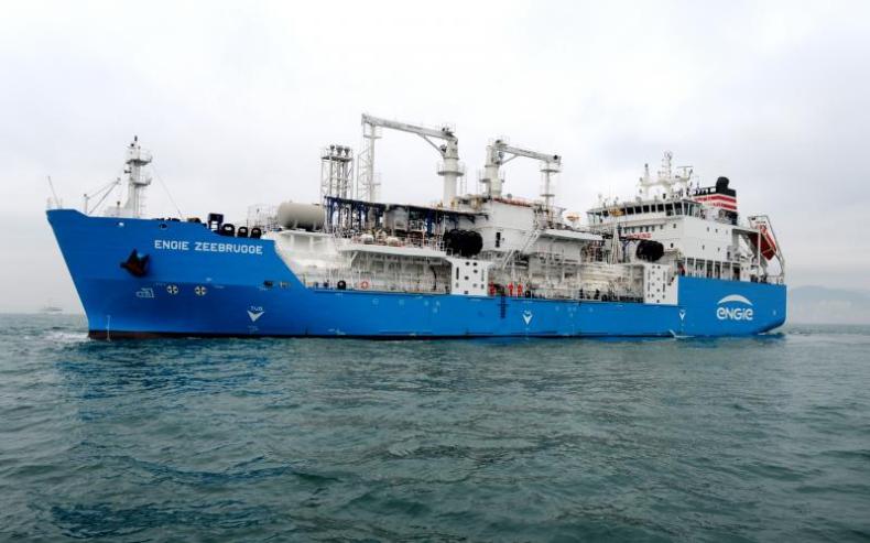 NYK przejmuje pełną kontrolę nad bunkierką Green Zeebrugge LNG - GospodarkaMorska.pl