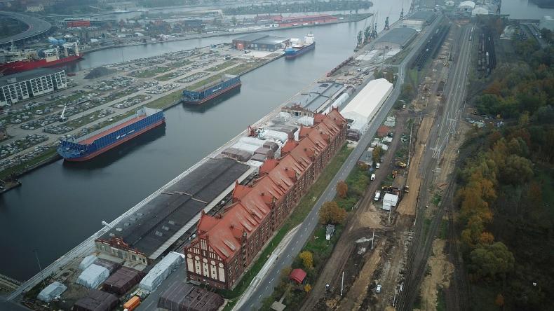 Porty w Szczecinie i Świnoujściu - imponujące tempo prac poprawiających dostęp kolejowy - GospodarkaMorska.pl