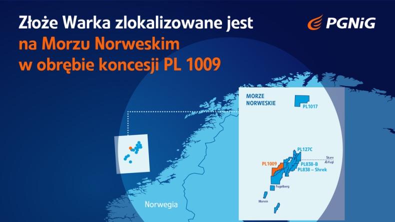 PGNiG odkryło duże złoże gazu w Norwegii  - GospodarkaMorska.pl