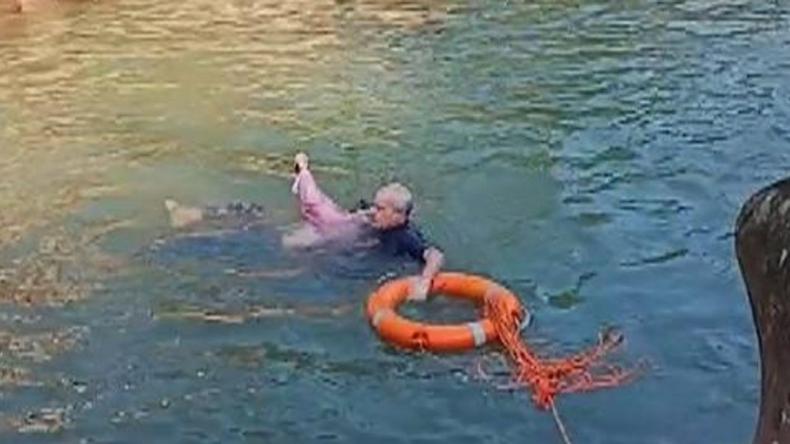 Brytyjski konsul uratował tonącą kobietę w Chinach. Został okrzyknięty bohaterem [wideo] - GospodarkaMorska.pl