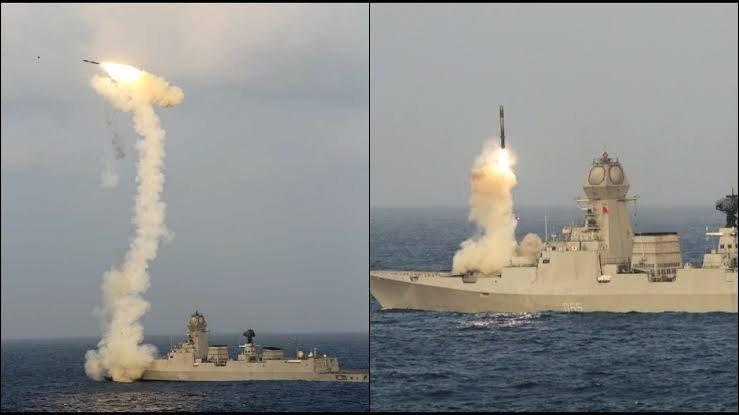 """""""Fajerwerki na morzu"""" - niesamowite nagrania testów broni indyjskiej marynarki wojennej [wideo] - GospodarkaMorska.pl"""