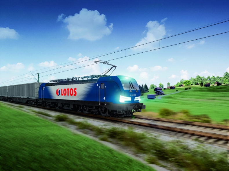 LOTOS Kolej z najnowocześniejszą lokomotywą w Europie - GospodarkaMorska.pl