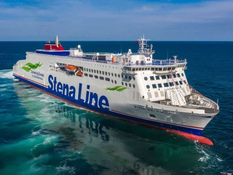 Stena Line odebrała z Chin najnowszy prom E-Flexer  - GospodarkaMorska.pl