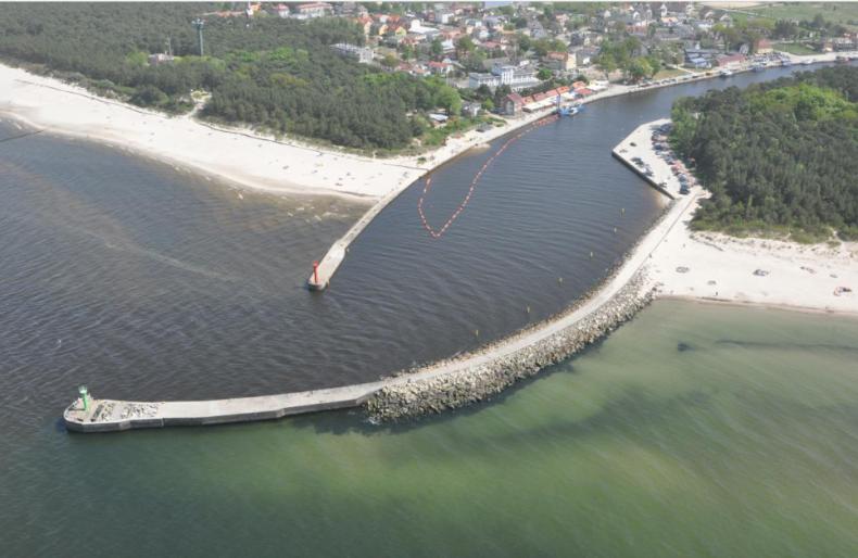 Jak będzie wyglądać port morski Mrzeżyno? Jest koncepcja projektu - GospodarkaMorska.pl