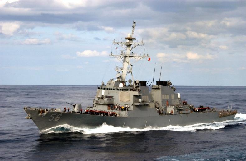 USA wysłały niszczyciel rakietowy na akwen, który Rosja uważa za swe wody terytorialne - GospodarkaMorska.pl