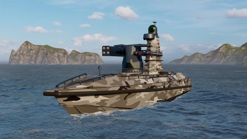 ULAQ: pierwszy turecki morski dron uderzeniowy [wideo] - GospodarkaMorska.pl