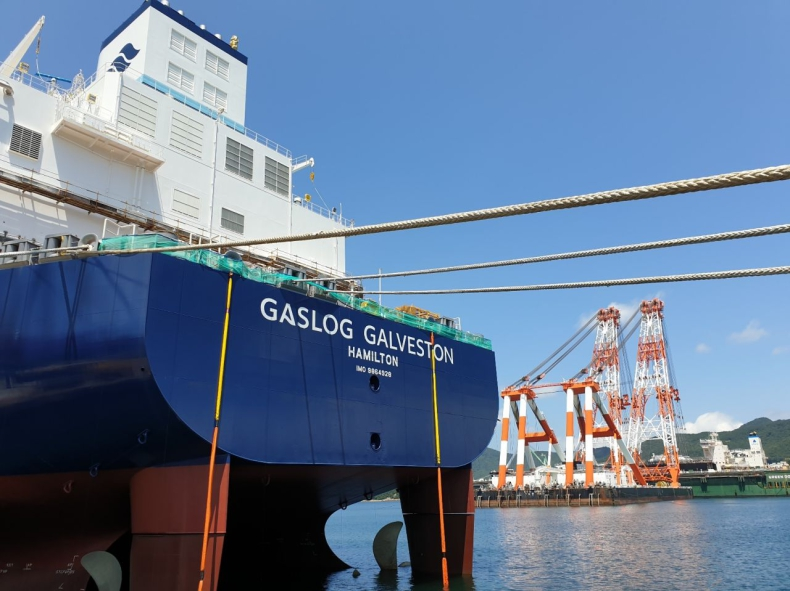 Najnowsza jednostka GasLoga przechodzi próby morskie - GospodarkaMorska.pl