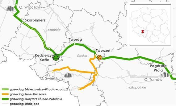 Gazociąg Zdzieszowice – Brzeg oddany do użytkowania - GospodarkaMorska.pl