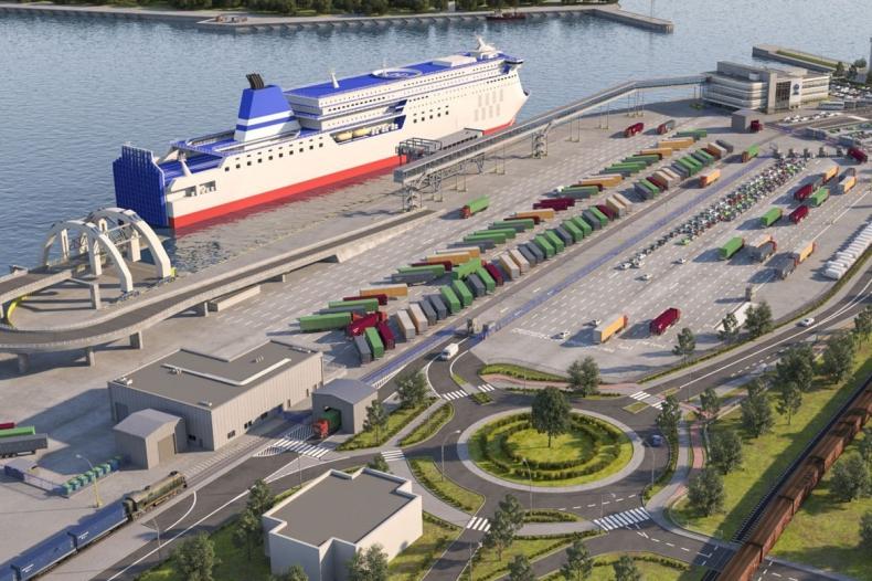 Port w Gdyni otwarty dla przewoźników promowych - GospodarkaMorska.pl