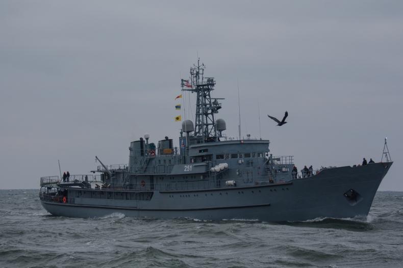 ORP Wodnik wrócił do służby [foto] - GospodarkaMorska.pl