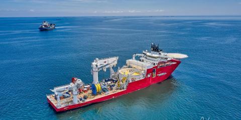 Jan De Nul dodał jednostkę Connector do swojej floty statków instalacyjnych - GospodarkaMorska.pl