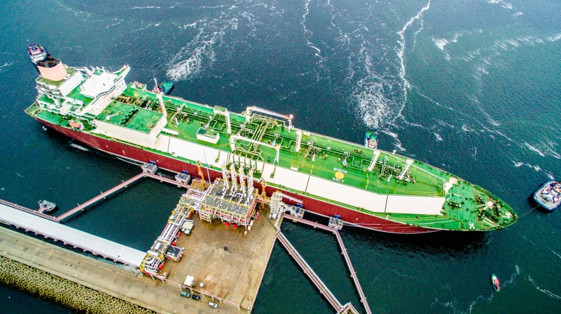 112. dostawa LNG w Świnoujściu - GospodarkaMorska.pl