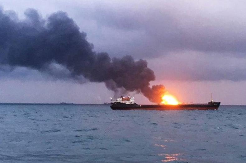 Eksplozja w jednym ze zbiorników tankowca w Arabii Saudyjskiej - GospodarkaMorska.pl