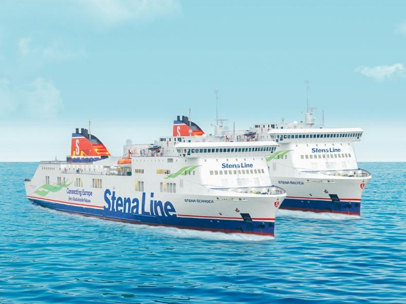 Stena Line ogłasza nowe nazwy statków na linii Nynäshamn - Ventspils (Szwecja-Łotwa) - GospodarkaMorska.pl