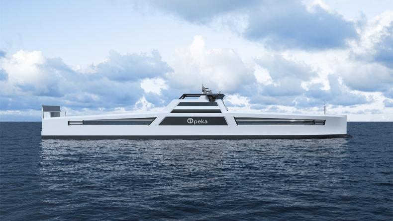 Projekt statku napędzanego wodorem otrzymał dofinansowanie od Enova - GospodarkaMorska.pl