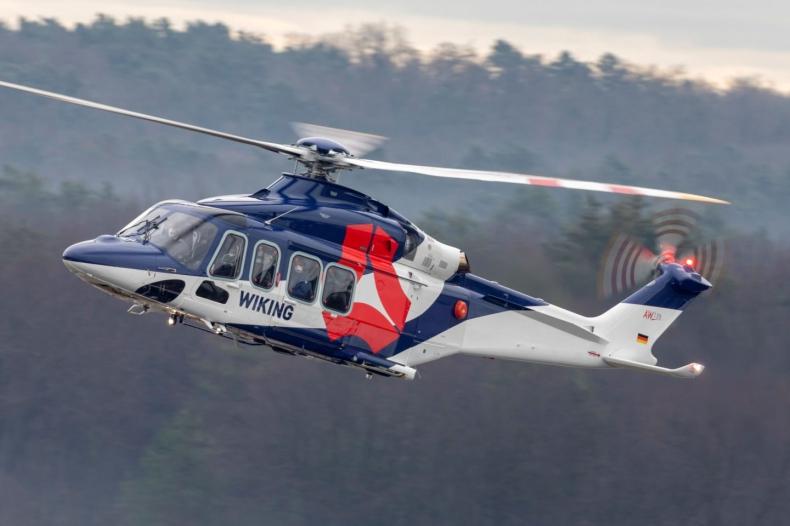 Flota morskich AW139 zwiększa się dzięki nowej dostawie dla WIKING Helikopter Service GmbH - GospodarkaMorska.pl
