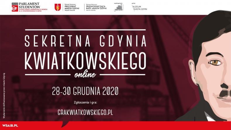 Sekretna Gdynia Kwiatkowskiego - Zabawa miejska online  - GospodarkaMorska.pl