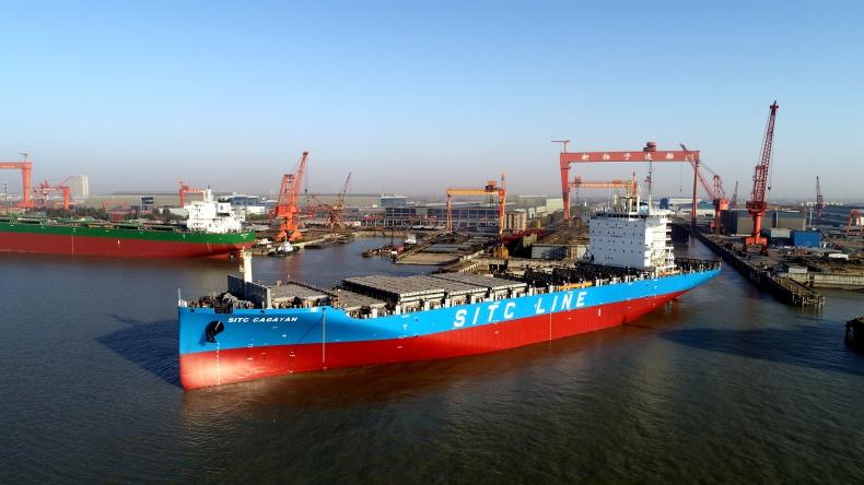 SITC zakontraktował do dziesięciu kontenerowców w Yangzijiang - GospodarkaMorska.pl