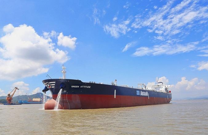 Aegean Shipping zamawia kolejny ekologiczny tankowiec Aframax - GospodarkaMorska.pl