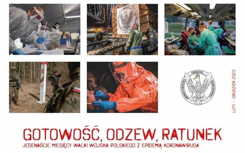Wojsko Polskie cały czas zaangażowane jest w walkę z COVID-19  - GospodarkaMorska.pl