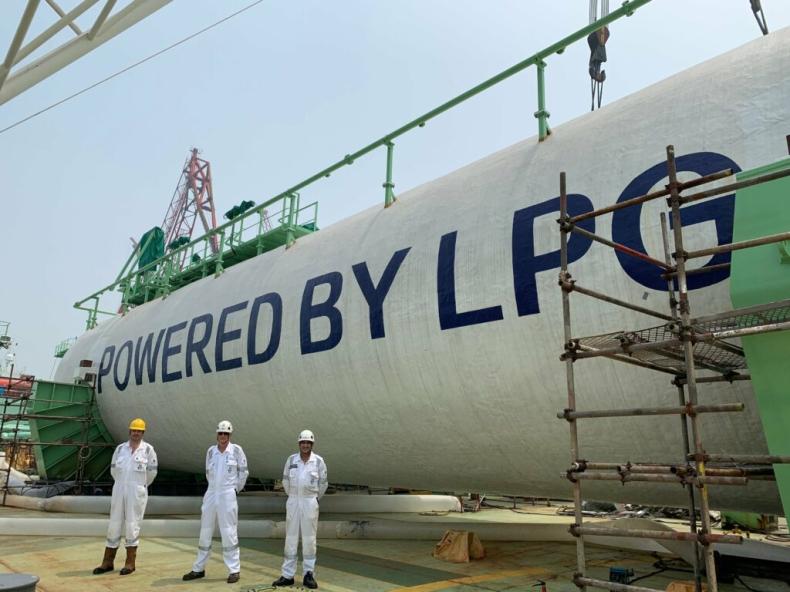 Trzecia jednostka BW LPG zakończyła próby morskie i gazowe - GospodarkaMorska.pl